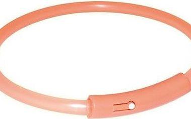 Trixie Light Band oranžový blikací obojek XS 25 cm