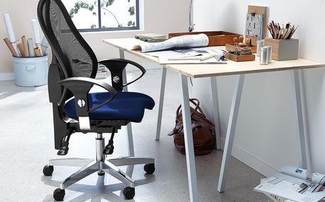 Tchibo, Kancelářská židle, modrá