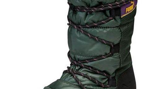 Dámská zimní obuv Puma 354349 05 - tmavě zelená