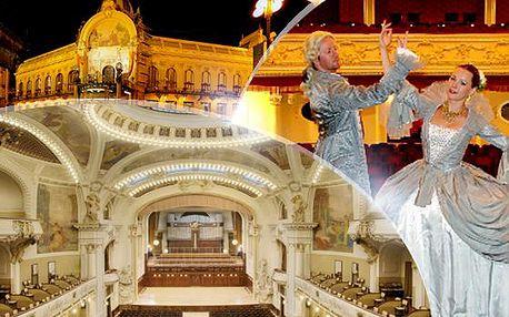 Koncert ve Smetanově síni Obecního domu! To nejlepší z Mozarta a Strausse v 70 min., 24. a 27. prosince!