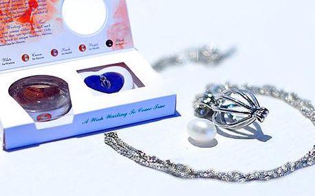 Náhrdelník s perlou přání