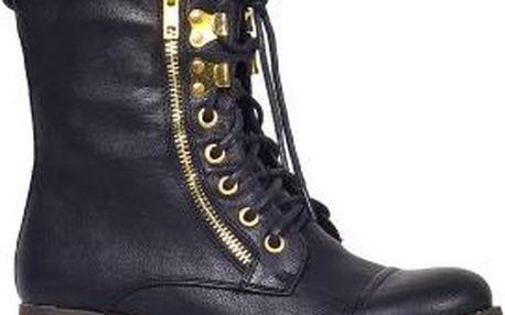 Pearlz - Dámské kotníkové boty - černá, 39