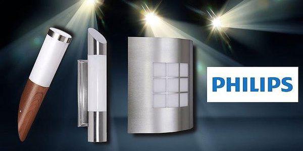 Venkovní nástěnná svítidla značky Philips
