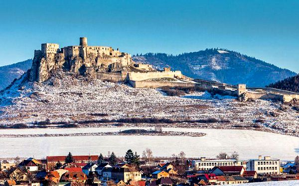 3 až 5 dní přes Vánoce či silvestra pro 2 na Slovensku v penzionu Piller Kaštieľ