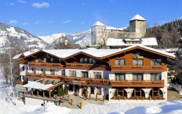 Rakousko, oblast Kaprun / Zell am See, doprava vlastní, snídaně, ubytování v 4,5* hotelu na 8 dní