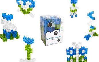 Q ball maze - 3D projekční stavebnice 50 kostek.