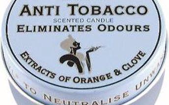 FRESH AIR vonné svíčky v plechu Anti tobacco 123g 3ks