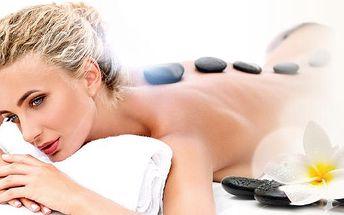 90minutová masáž dle vlastního výběru! Medová, čokoládová nebo masáž lávovými kameny u metra B Křižíkova!