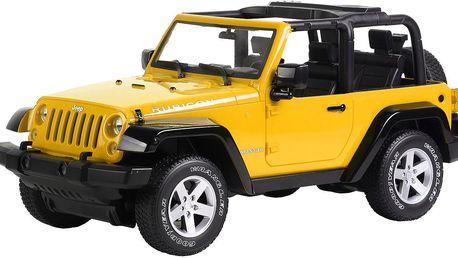 Buddy Toys Jeep Wrangler - yellow BRC 10011 1/10 na dálkové ovládání