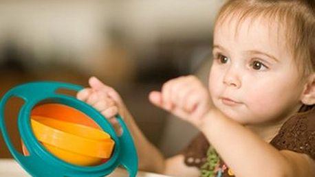 Gyro Bowl - kouzelná miska pro děti!! Tuhle misku jen tak Vaše dítě nevysype...