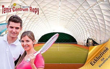 Permanentka 10ti individuálních lekcí tenisu v tenisovém centru Řepy