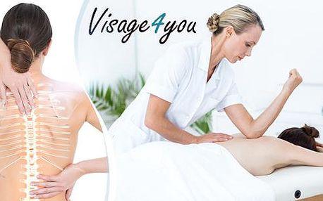 30minutová odborná masáž zádového a šíjového svalstva, která Vás zbaví bolesti, napětí a ztuhlosti!