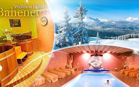 Zimní Beskydy na 3 dny pro 2 osoby s polopenzí, vínem, saunou, bazénem a slevou na wellness Pivní lázně!