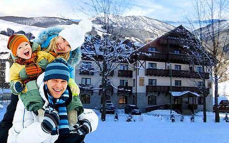 Horský relax v centru Tatranské Lomnice s ubytováním v apartmánovém studiu Javorinka až pro 6 osob + dítě do 6 let zdarma