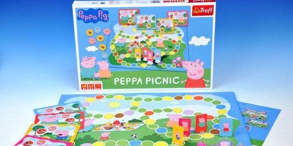 Prasátko Pepina na pikniku - zábavná společenská hra!