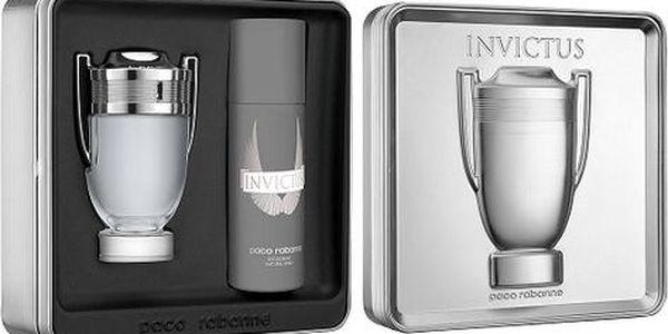 Paco Rabanne Invictus EDT dárková sada M - Edt 100ml + 150ml deodorant
