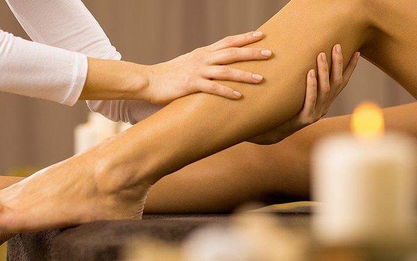 30minutová relaxační masáž dolních končetin