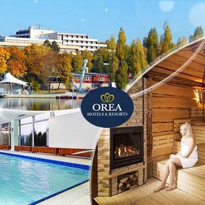 Orea Resort Santon - Brno! Wellness pobyt na 3 dny pro 2 osoby s polopenzí, bazénem, saunou a párou!