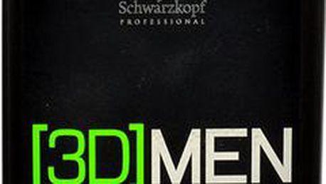 Schwarzkopf 3DMEN Hair & Body Shampoo 250ml Šampon na normální vlasy M Šampon pro vlasy a tělo