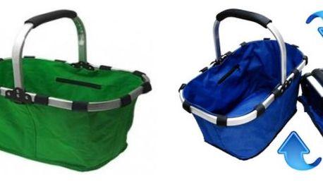 Praktický skládací košík - prostorný, lehký a skladný