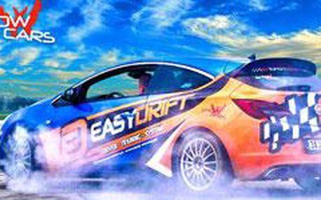 Jízda v Driftovacím Speciálu na 30 minut – Drift Challenge s EASYDRIFT