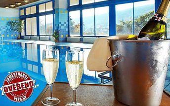 3 až 6 dní pro 2 osoby s polopenzí a wellness v hotelu Harmonie v Luhačovicích