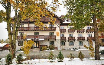 3–6denní zimní pobyt pro 3 osoby v Tatranské Lomnici v apartmánu Javor