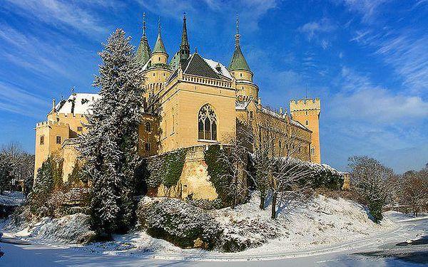 3 nebo 6 dní pro dvě osoby s polopenzí v hotelu Regia v Bojnicích na Slovensku