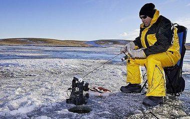 Povolenka na zimní lov pstruhů