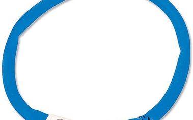 Dog Fantasy LED svítící obojek 45 cm modrý