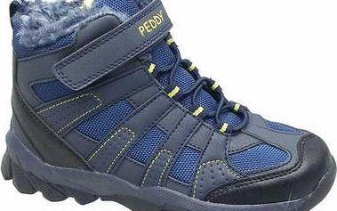 Peddy Chlapecké zimní kotníčkové boty, modré