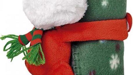 Vánoční fleecová deka!