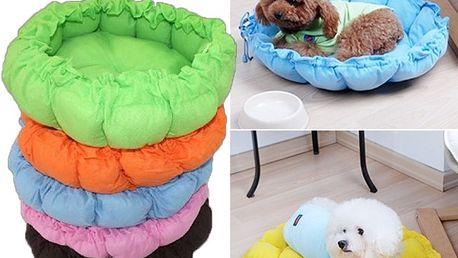 Stahovací pelíšek pro malé psy a kočky