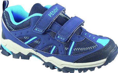 Peddy Chlapecké outdoorové tenisky - modré