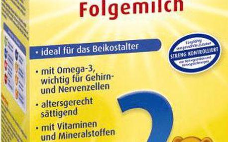 Expirace 5.3.2016: BEBIVITA 2 (500g) - kojenecké mléko