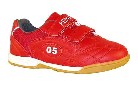Peddy Dětské sálové tenisky - červené
