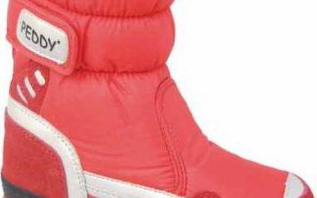Peddy Dívčí sněhule, červené