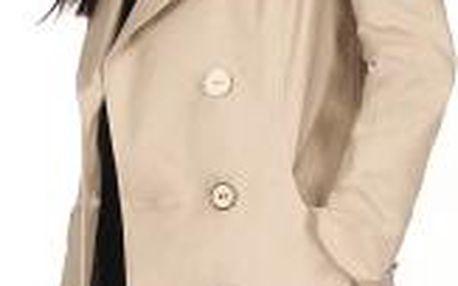 Click Fashion - Kabát Kordoba - béžová, 36