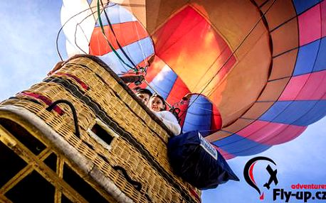 Vyhlídkový let v horkovzdušném balonu – nezapomenutelné dobrodružství na celý život!