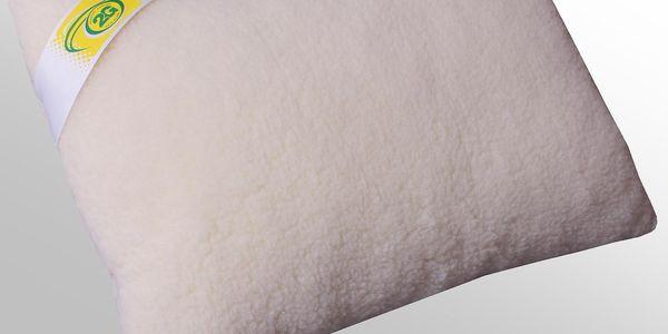 Polštář Merino ovčí vlna 50x70cm