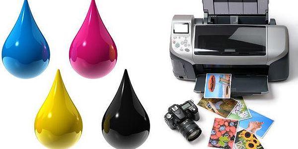 Kvalitní sady 5 kompatibilních náplní do tiskáren Canon