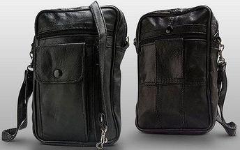 Kožená příruční taška Stefano