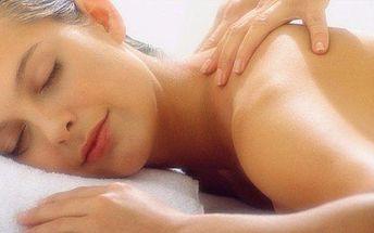 Masáž zad a šíje s reflexní terapií