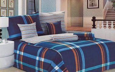 NOVIA Povlečení Comfort+, bavlna, 8 dílné, 140x200 70x90 40x40 20x40 220x230, Vzor PC07