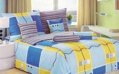 NOVIA Povlečení Comfort+, bavlna, 8 dílné, 140x200 70x90 40x40 20x40 220x230, Vzor PC04