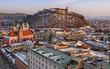 Slovinské láznění a adventní trhy v Lublani autobusem se snídaní