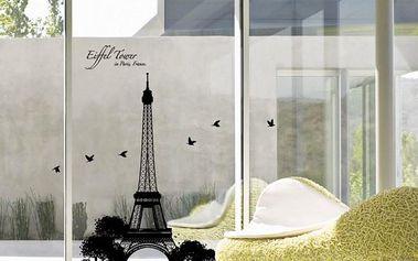 Samolepka Ambiance Eiffel Tower, 110x70 cm