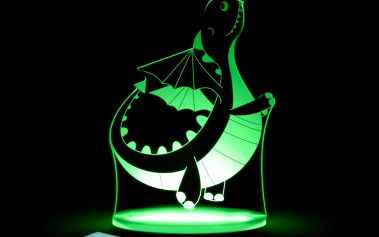 Dětské LED noční světýlko Aloka Dinosaur - doprava zdarma!