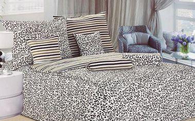 NOVIA Povlečení Comfort+, bavlna, 8 dílné, 140x200 70x90 40x40 20x40 220x230, Vzor PC02