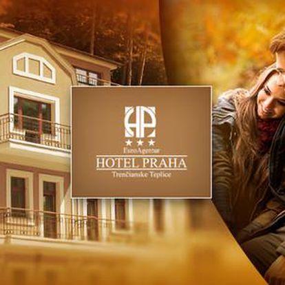 Garni hotel Praha*** v srdci malebného údolí Trenčianských Teplic